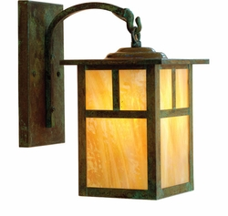 "Mission 16"" Outdoor Wall Lighting Fixture By Arroyo Craftsman"
