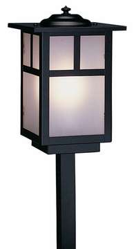 "Mission 20"" Outdoor Path Lighting Fixture By Arroyo Craftsman"