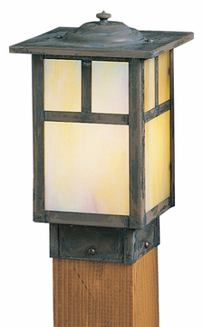 "Mission 8.5"" Outdoor Lamp Post By Arroyo Craftsman"