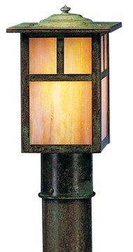 "Mission 8.5"" Outdoor Post Lantern By Arroyo Craftsman"
