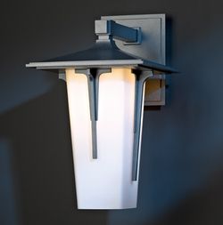 "Modern Prairie Large 15.9"" Outdoor Wall Sconce Lighting By Hubbardton Forge - Transitional 305710"