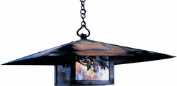 "Monterey 15.625"" Outdoor Hanging Lantern By Arroyo Craftsman"