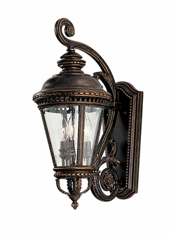 "Murray Feiss Castle 22.5"" Exterior Wall Lighting Fixture - Bronze OL1901GBZ"