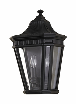 "Murray Feiss Cotswold Lane 16"" Outdoor Wall Lighting Fixture - Traditional OL5403BK"