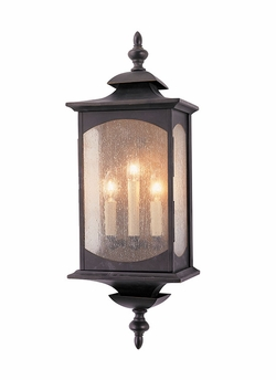 """Murray Feiss Market Square 25"""" Outdoor Wall Lantern - Transitional OL2602ORB"""