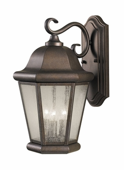 "Murray Feiss Martinsville 17"" Exterior Wall Sconce - Bronze OL5902CB"