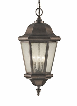 Murray Feiss Martinsville Outdoor Pendant Light Fixture - Bronze OL5911CB