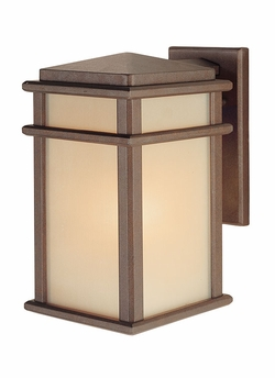 "Murray Feiss Mission Lodge 12.5"" Outdoor Wall Light - Bronze OL3401CB"