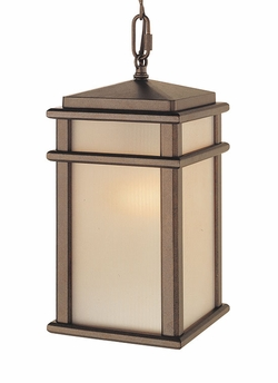 """Murray Feiss Mission Lodge 13.5"""" Outdoor Hanging Lantern OL3411CB"""