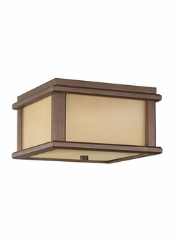 Murray Feiss Mission Lodge Flush Mount Exterior Light OL3413CB