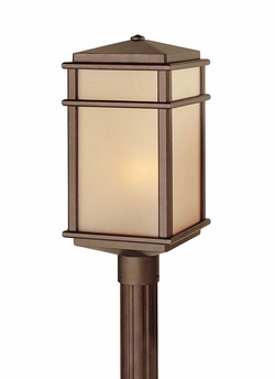 Murray Feiss Mission Lodge Outdoor Post Lantern OL3408CB