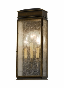 """Murray Feiss Whitaker 17.25"""" Outdoor Wall Lighting Fixture - Transitional OL7400ASTB"""