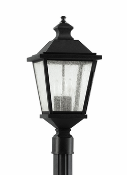 Feiss Woodside Hills Outdoor Post Lantern OL5707BK