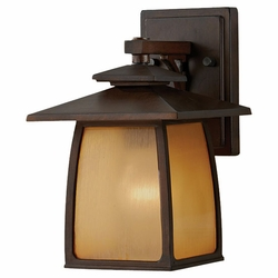 "Murray Feiss Wright House 10.3"" Outdoor Light Sconce - Brown OL8500SBR"