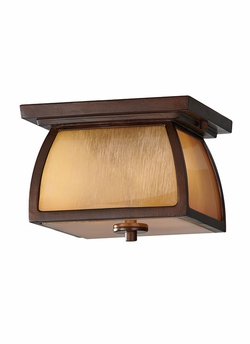 Murray Feiss Wright House Outdoor Ceiling Lighting - Brown OL8513SBR