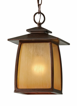 Murray Feiss Wright House Outdoor Pendant Lighting - Brown OL8511SBR
