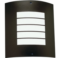 "Newport 10.5"" Modern Outdoor Wall Lantern by Kichler 6040AZ"