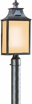 Newton Fluorescent Outdoor Post Lantern by Troy PF9003OBZ