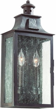 Newton Outdoor Wall Lighting Fixture in Old Bronze by Troy BCD9008OBZ