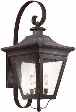 """Oxford 27.75"""" Outdoor Light Sconce By Troy - Traditional B8933"""