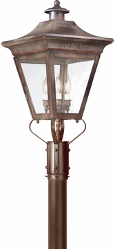 """Oxford 29"""" Outdoor Post Light By Troy - Traditional P8934"""