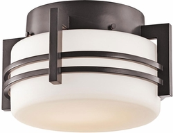 Pacific Edge Outdoor Ceiling Fixture By Kichler - Bronze 9557AZ