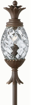 Plantation Pineapple Tropical Low Voltage Exterior Lighting Fixture by Hinkley 1529CB