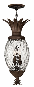 Plantation Tropical Pineapple Hanging Outdoor Light by Hinkley 2222CB