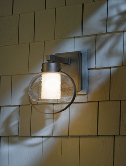 """Port 12"""" Outdoor Wall Sconce By Hubbardton Forge 304303"""