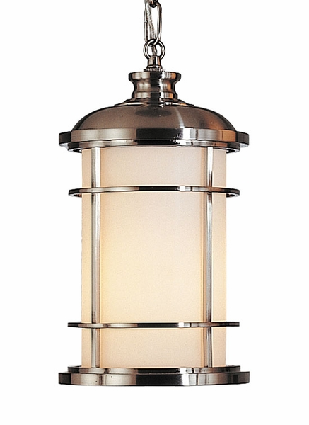 Quoizel Lighthouse Outdoor Pendant Lighting Fixture   Nautical OL2209BS