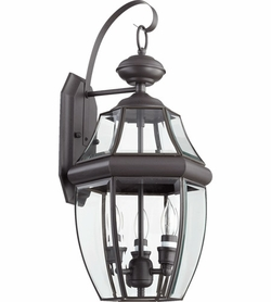 "Quorum Carrington 21"" Exterior Wall Lighting 743-3-36"