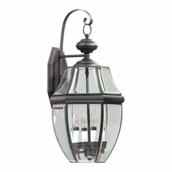 "Quorum Carrington 23"" Outdoor Wall Lamp 743-4-36"