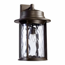 "Quorum Charter 19"" Outdoor Lighting Sconce - Bronze 7246-11-86"