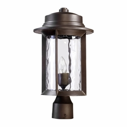 Quorum Charter Exterior Post Lamp - Bronze 7248-9-86