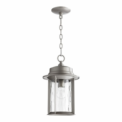 Quorum Charter Outdoor Pendant Lamp - Graphite 7247-9-3