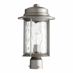 Quorum Charter Outdoor Post Light - Graphite 7248-9-3