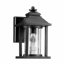 "Quorum Crusoe 9.25"" Outdoor Wall Light - Noir 7270-69"
