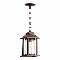 Quorum Crusoe Outdoor Hanging Lighting - Bronze 7273-86
