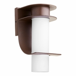 Quorum Downing Outdoor Wall Light - Bronze 750-86