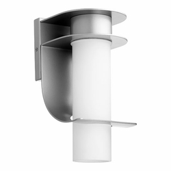 Quorum Downing Outdoor Wall Sconce Lighting - Graphite 750-3