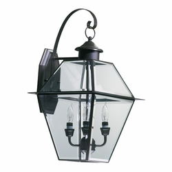 "Quorum Duvall 22"" Exterior Wall Lighting - Bronze 729-4-36"