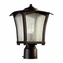 Quorum Gable Outdoor Post Light Fixture 7512-8-86