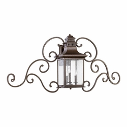 "Quorum Magnolia 22"" Outdoor Wall Lighting 7044-3-86"