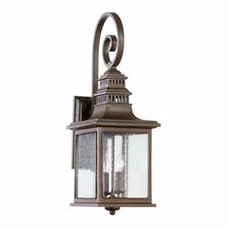 "Quorum Magnolia 24.5"" Outdoor Wall Mounted Light 7043-2-86"