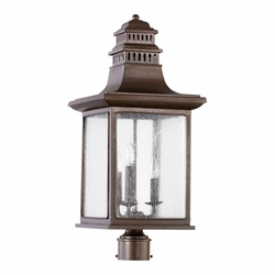 Quorum Magnolia Exterior Post Light 7046-3-86