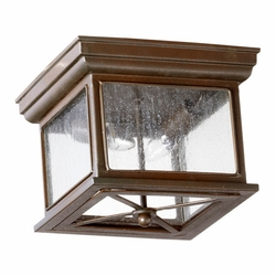 Quorum Magnolia Outdoor Flush Mount Ceiling Light 3043-11-86