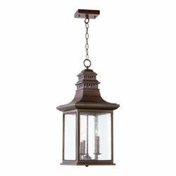 Quorum Magnolia Outdoor Hanging Lighting 7045-3-86