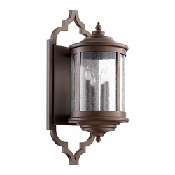 "Quorum Mayfair 28"" Outdoor Wall Sconce Lighting 745-4-86"