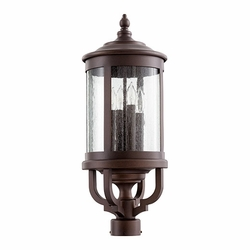 Quorum Mayfair Outdoor Post Lighting 747-4-86