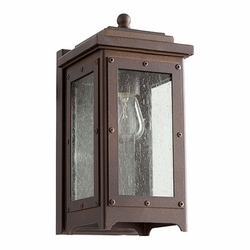 "Quorum Riverdale 10.5"" Outdoor Wall Lamp 757-86"
